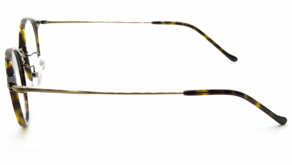 ユニオン アトランティック UA3617-DBDM-45 [鯖江産/丸メガネ/べっ甲柄]  2
