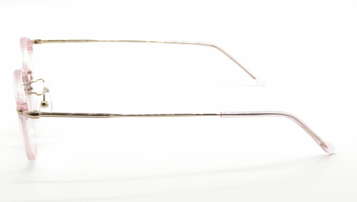 ユニオン アトランティック UA3617-PK-45 [鯖江産/丸メガネ/ピンク]  2