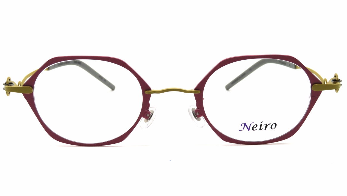 オンビートノネイロ ONB-N805-1ー44 [メタル/鯖江産/オーバル/ピンク]