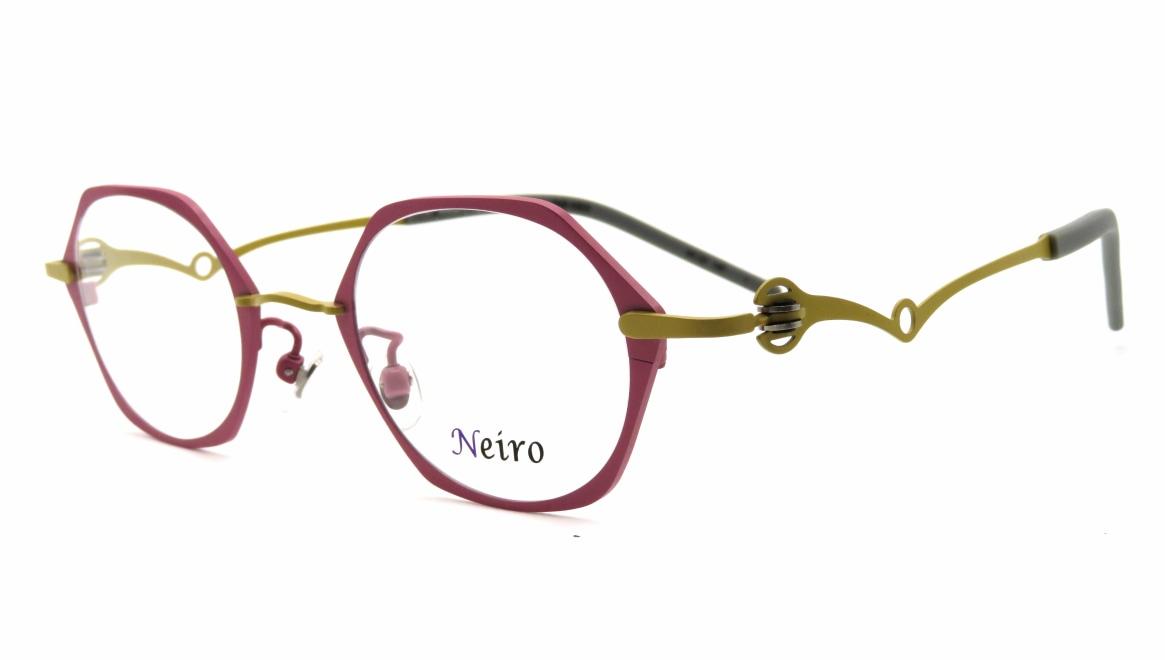 オンビートノネイロ ONB-N805-1ー44 [メタル/鯖江産/オーバル/ピンク]  1