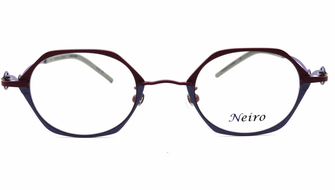 オンビートノネイロ ONB-N805-3ー44 [メタル/鯖江産/オーバル/紫]