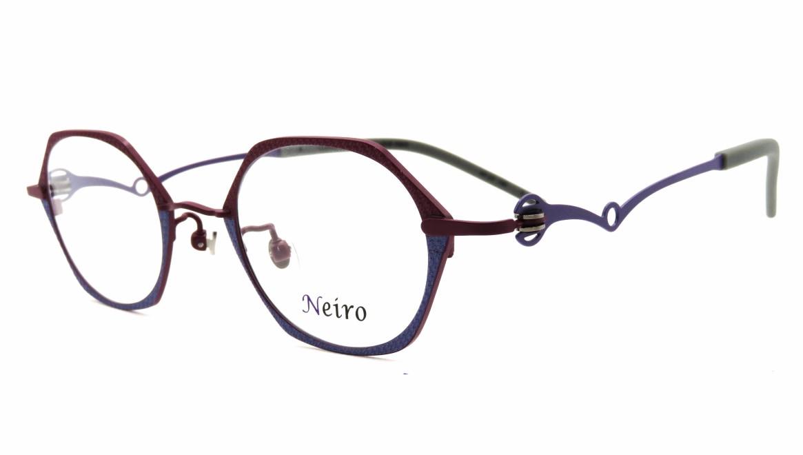 オンビートノネイロ ONB-N805-3ー44 [メタル/鯖江産/オーバル/紫]  1