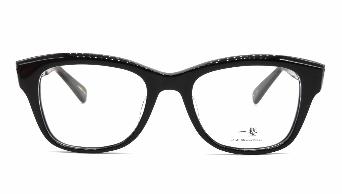 Oh My Glasses TOKYO 一整 ISSEY-01-BK-51 [黒縁/鯖江産/ウェリントン]