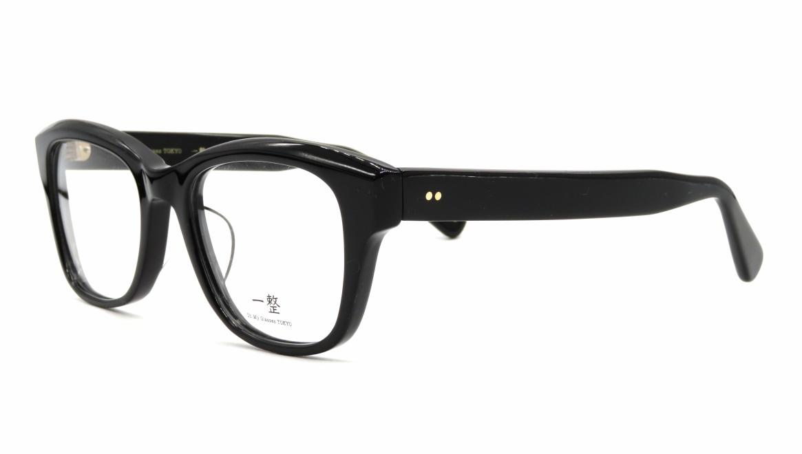 Oh My Glasses TOKYO 一整 ISSEY-01-BK-51 [黒縁/鯖江産/ウェリントン]  1