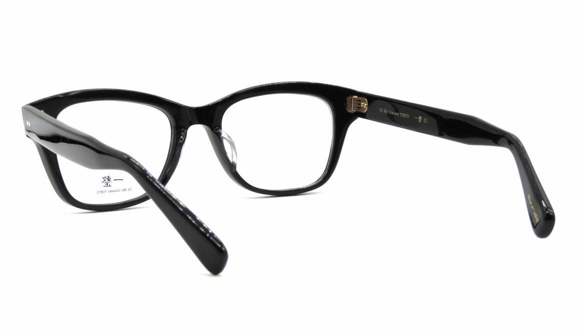 Oh My Glasses TOKYO 一整 ISSEY-01-BK-51 [黒縁/鯖江産/ウェリントン]  3
