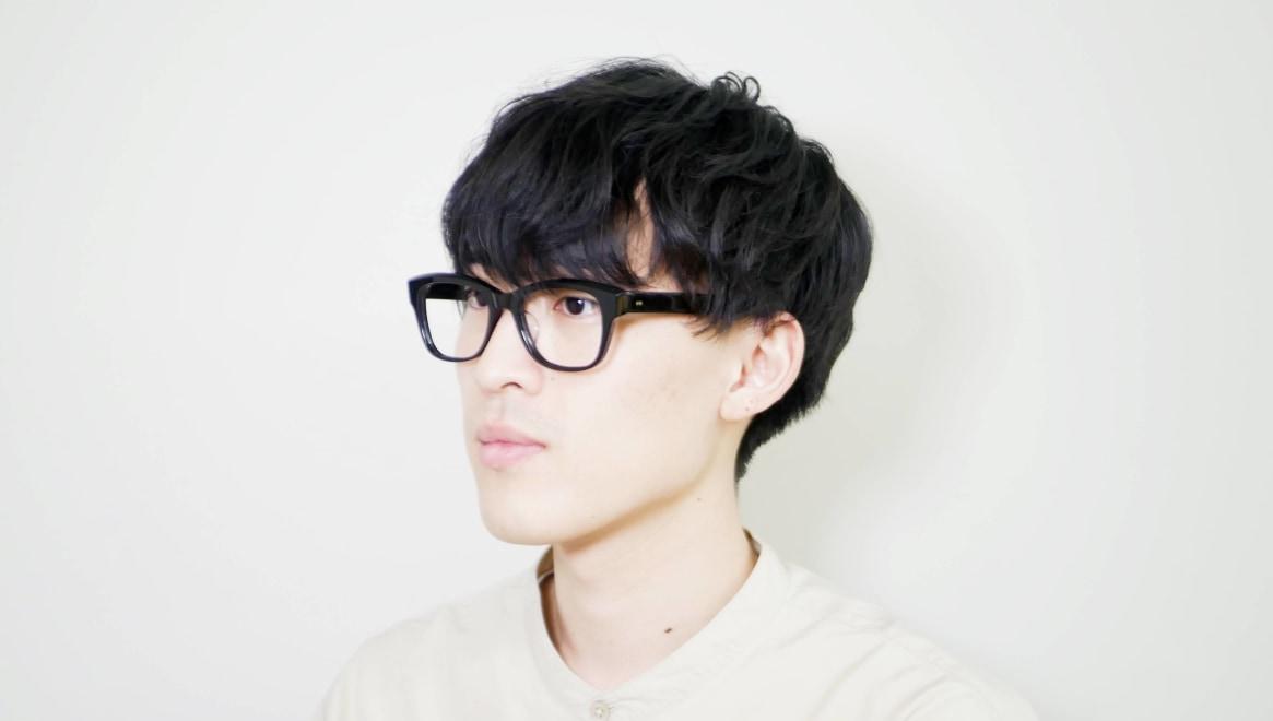Oh My Glasses TOKYO 一整 ISSEY-01-BK-51 [黒縁/鯖江産/ウェリントン]  5