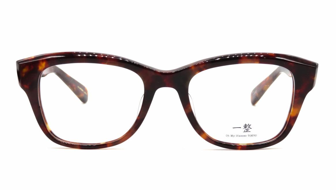 Oh My Glasses TOKYO 一整 ISSEY-01-DM-51 [鯖江産/ウェリントン/べっ甲柄]