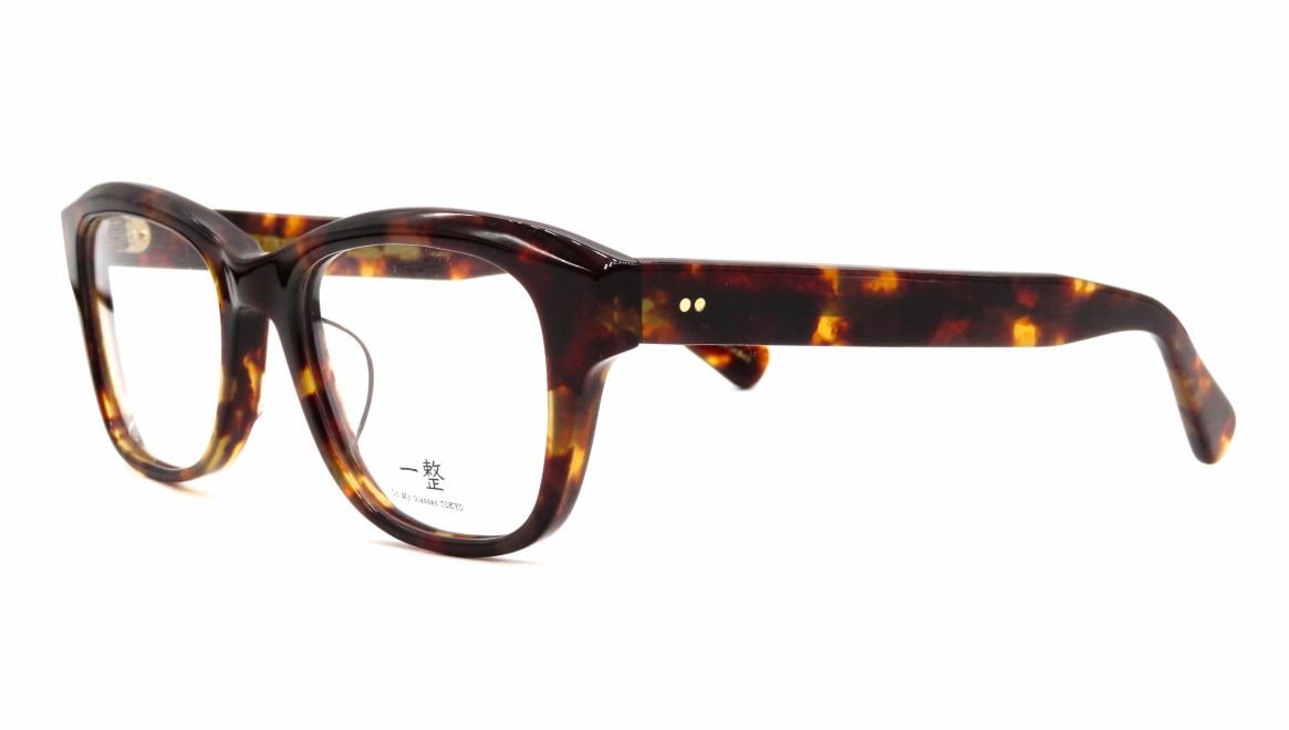 Oh My Glasses TOKYO 一整 ISSEY-01-DM-51 [鯖江産/ウェリントン/べっ甲柄]  1