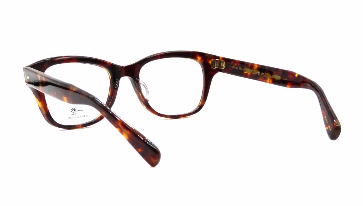 Oh My Glasses TOKYO 一整 ISSEY-01-DM-51 [鯖江産/ウェリントン/べっ甲柄]  3