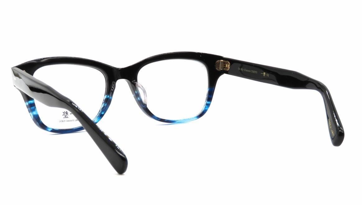 Oh My Glasses TOKYO 一整 ISSEY-01-BK-BL-51 [黒縁/鯖江産/ウェリントン]  3