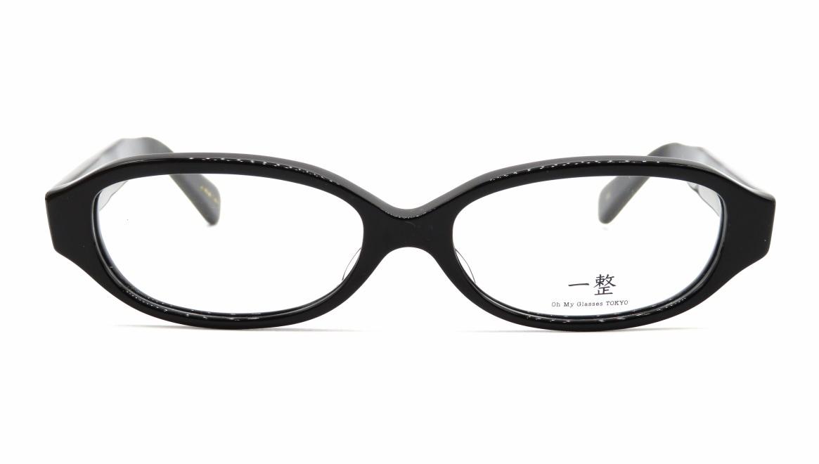 Oh My Glasses TOKYO 一整 ISSEY-02-BK-54 [黒縁/鯖江産/オーバル]