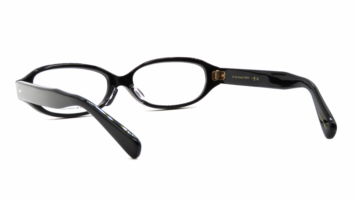 Oh My Glasses TOKYO 一整 ISSEY-02-BK-54 [黒縁/鯖江産/オーバル]  3