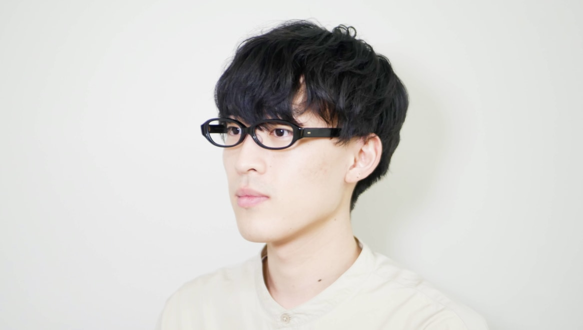 Oh My Glasses TOKYO 一整 ISSEY-02-BK-54 [黒縁/鯖江産/オーバル]  5