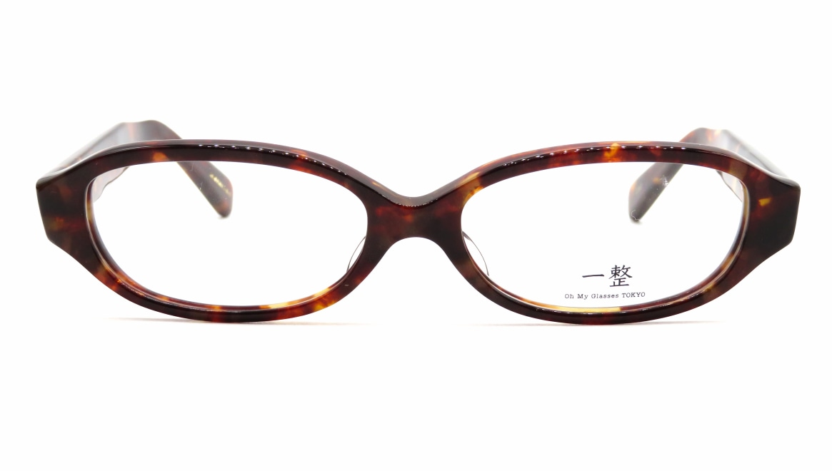 Oh My Glasses TOKYO 一整 ISSEY-02-DM-54 [鯖江産/オーバル/べっ甲柄]