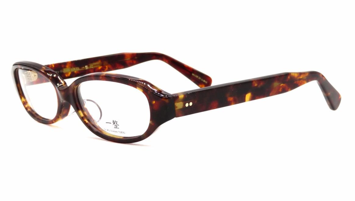 Oh My Glasses TOKYO 一整 ISSEY-02-DM-54 [鯖江産/オーバル/べっ甲柄]  1