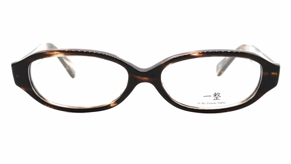 Oh My Glasses TOKYO 一整 ISSEY-02-BRS-54 [鯖江産/オーバル/茶色]