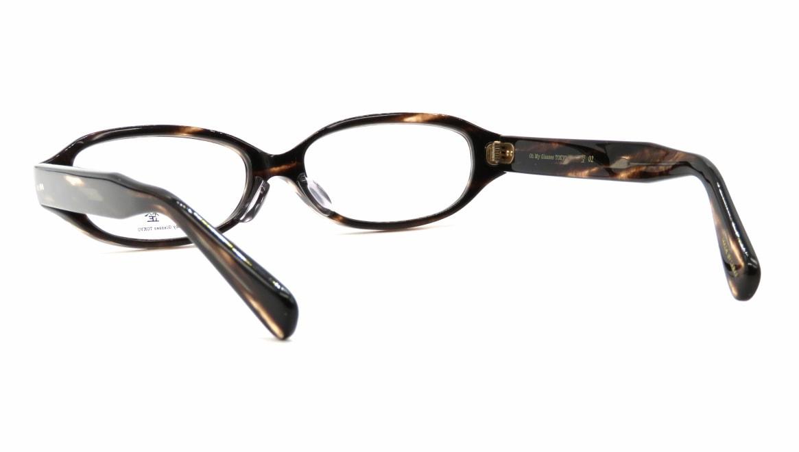 Oh My Glasses TOKYO 一整 ISSEY-02-BRS-54 [鯖江産/オーバル/茶色]  3