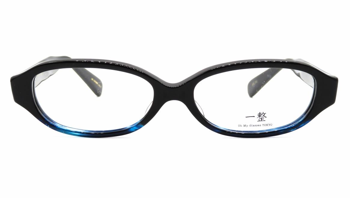 Oh My Glasses TOKYO 一整 ISSEY-02-BK-BL-54 [黒縁/鯖江産/オーバル]