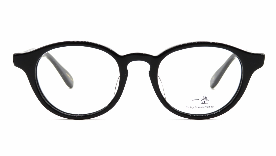 Oh My Glasses TOKYO 一整 ISSEY-03-BK-47 [黒縁/鯖江産/丸メガネ]