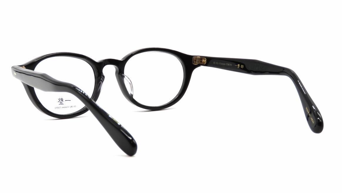 Oh My Glasses TOKYO 一整 ISSEY-03-BK-47 [黒縁/鯖江産/丸メガネ]  3