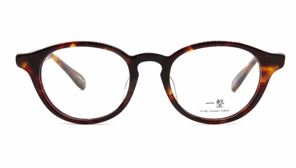 Oh My Glasses TOKYO 一整 ISSEY-03-DM-47 [鯖江産/丸メガネ/べっ甲柄]