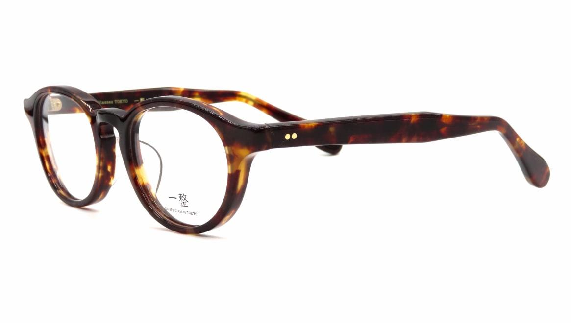Oh My Glasses TOKYO 一整 ISSEY-03-DM-47 [鯖江産/丸メガネ/べっ甲柄]  1