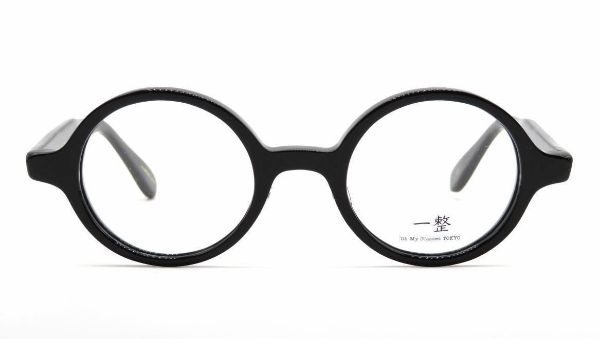 Oh My Glasses TOKYO 一整 ISSEY-04-BK-43 [黒縁/鯖江産/丸メガネ]