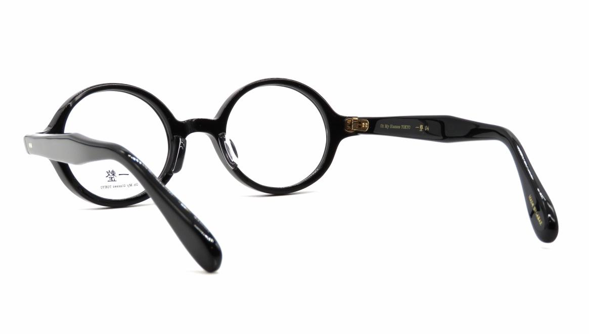 Oh My Glasses TOKYO 一整 ISSEY-04-BK-43 [黒縁/鯖江産/丸メガネ]  3