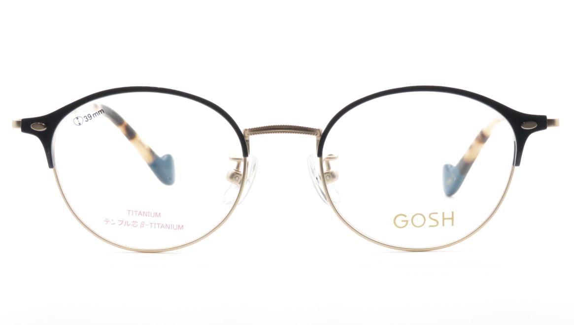 ゴッシュ GO-2009-1ー48 [メタル/丸メガネ/青]