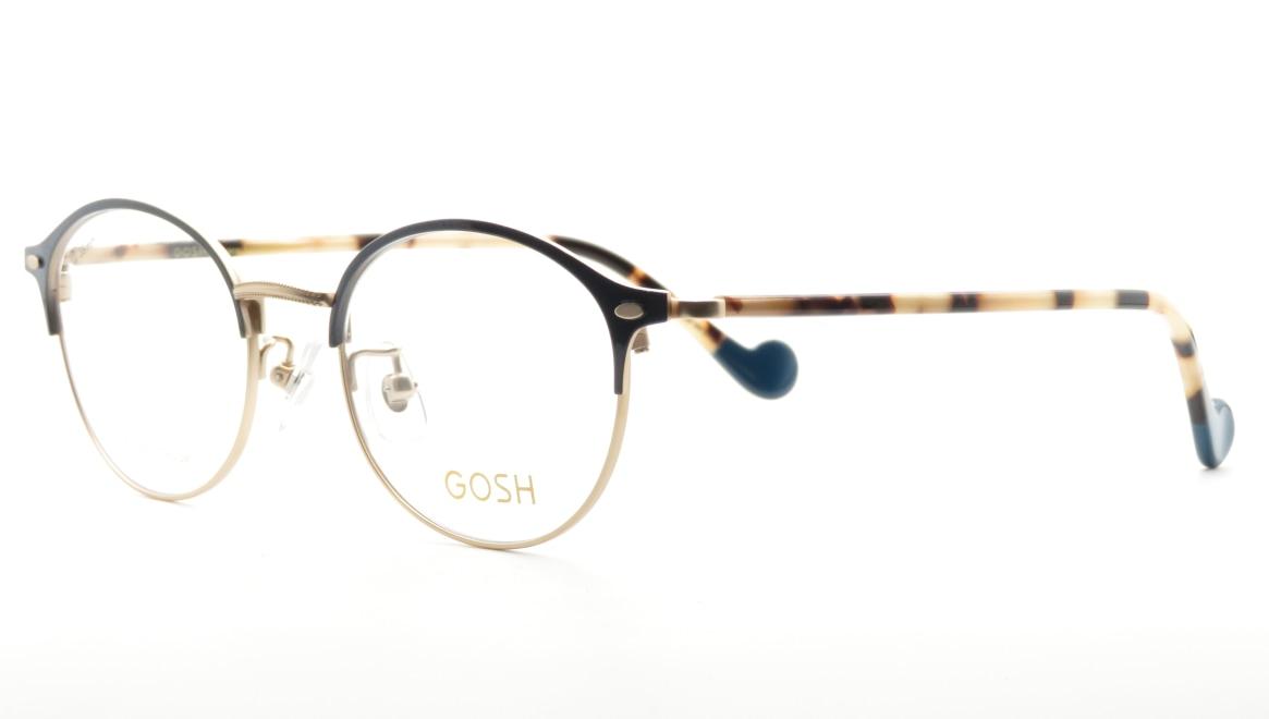 ゴッシュ GO-2009-1ー48 [メタル/丸メガネ/青]  1