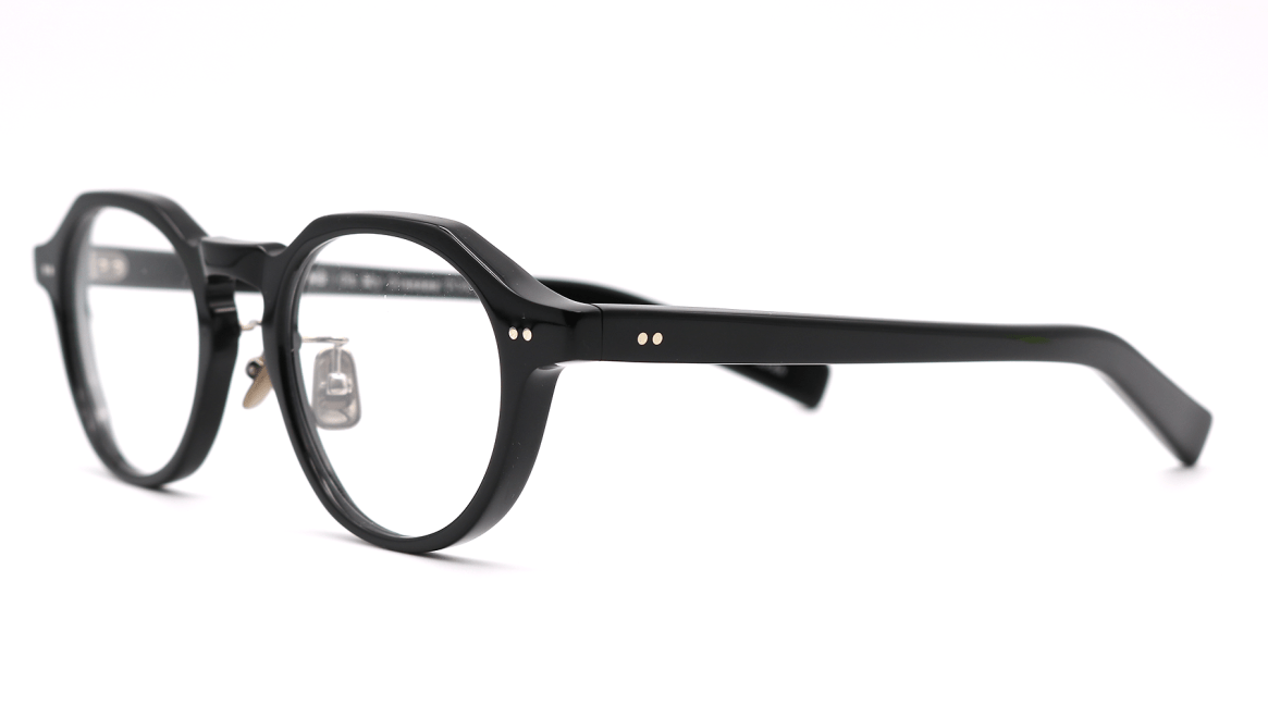 Oh My Glasses TOKYO MBT-1-BK-47 [黒縁/鯖江産/丸メガネ]  1