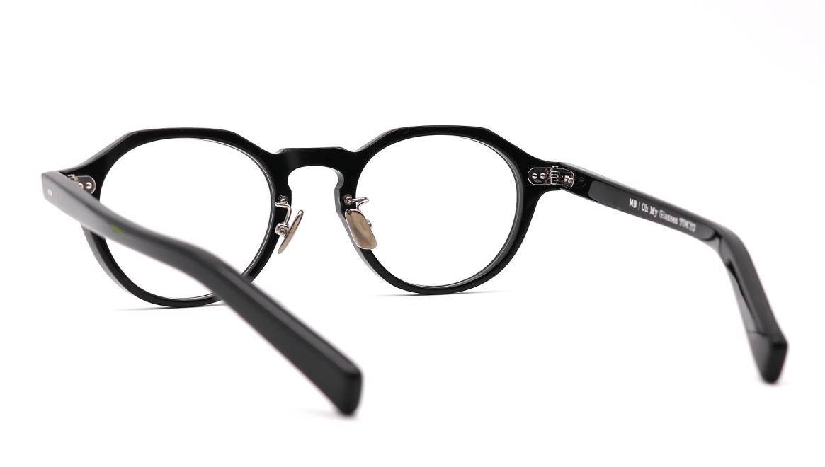 Oh My Glasses TOKYO MBT-1-BK-47 [黒縁/鯖江産/丸メガネ]  3