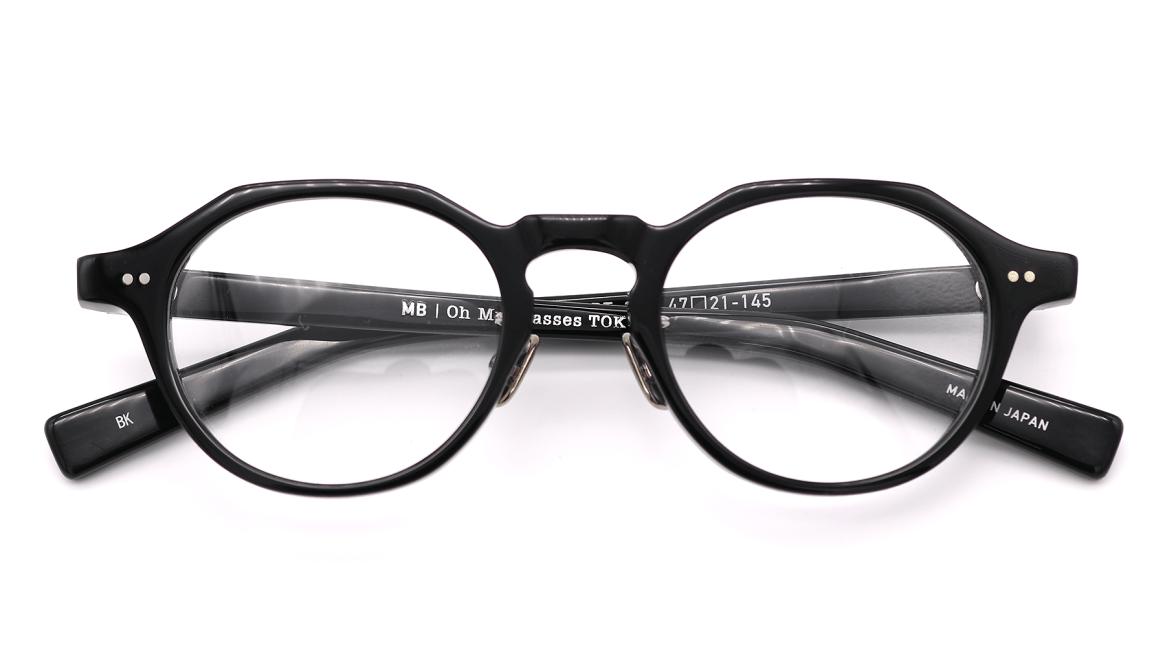 Oh My Glasses TOKYO MBT-1-BK-47 [黒縁/鯖江産/丸メガネ]  4