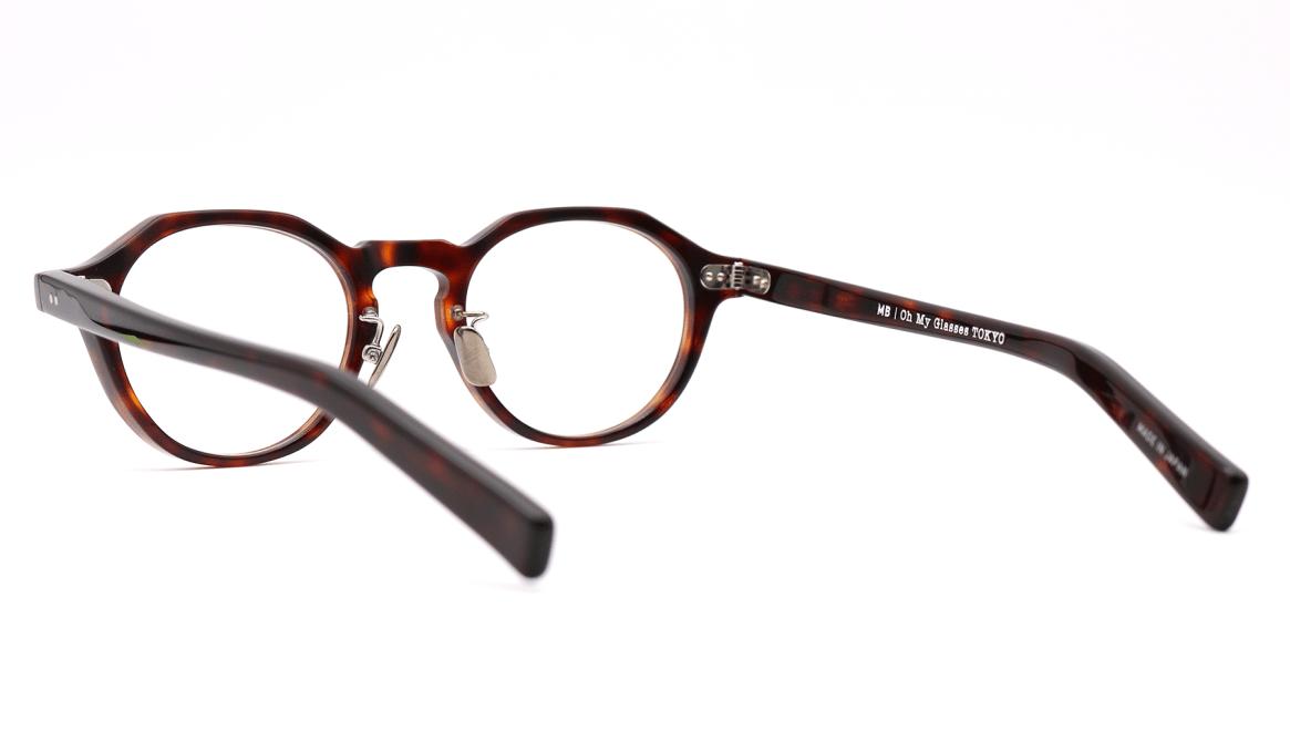 Oh My Glasses TOKYO MBT-1-DM-47 [鯖江産/丸メガネ/べっ甲柄]  3