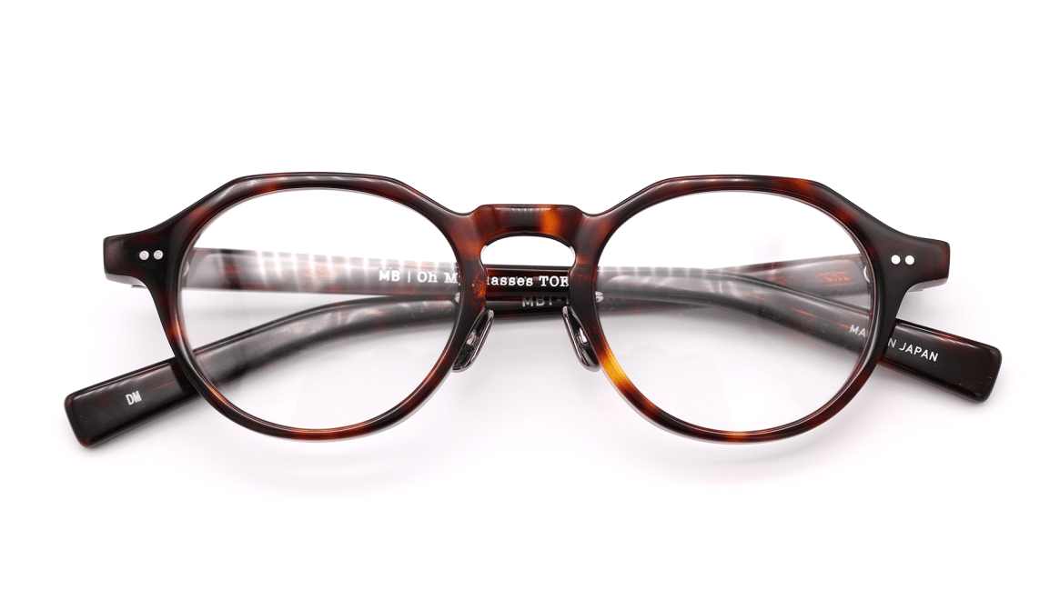 Oh My Glasses TOKYO MBT-1-DM-47 [鯖江産/丸メガネ/べっ甲柄]  4