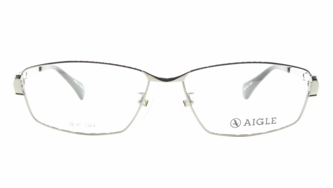 エーグル AG1125-2-58 [メタル/スクエア/シルバー]