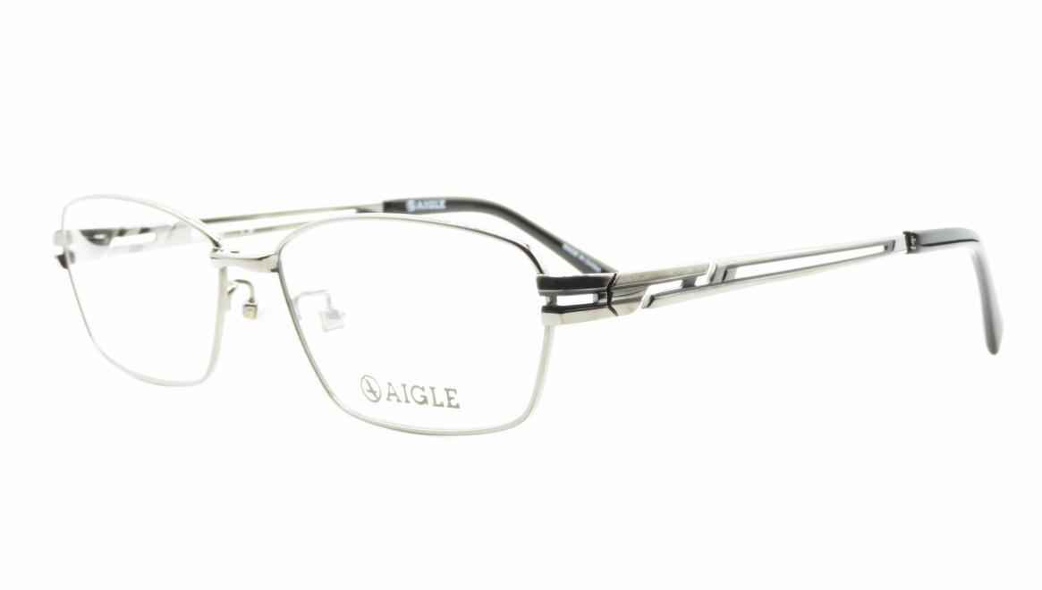 エーグル AG1133-2-58 [メタル/スクエア/シルバー]  1