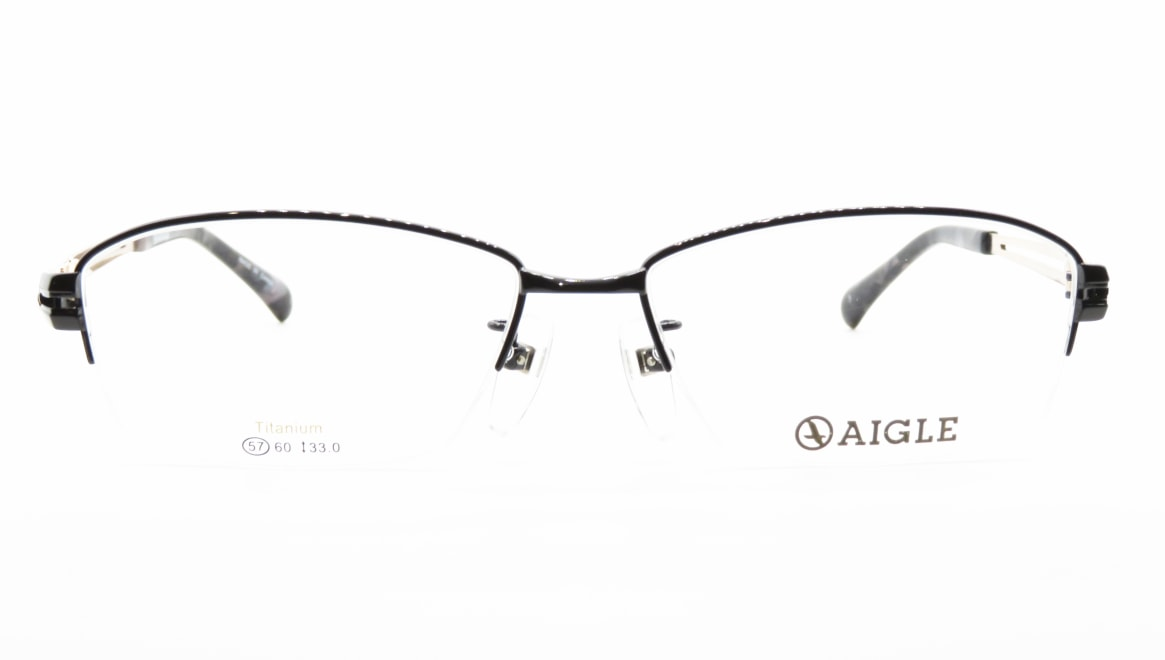 エーグル AG1134-3-57 [メタル/ハーフリム/スクエア]