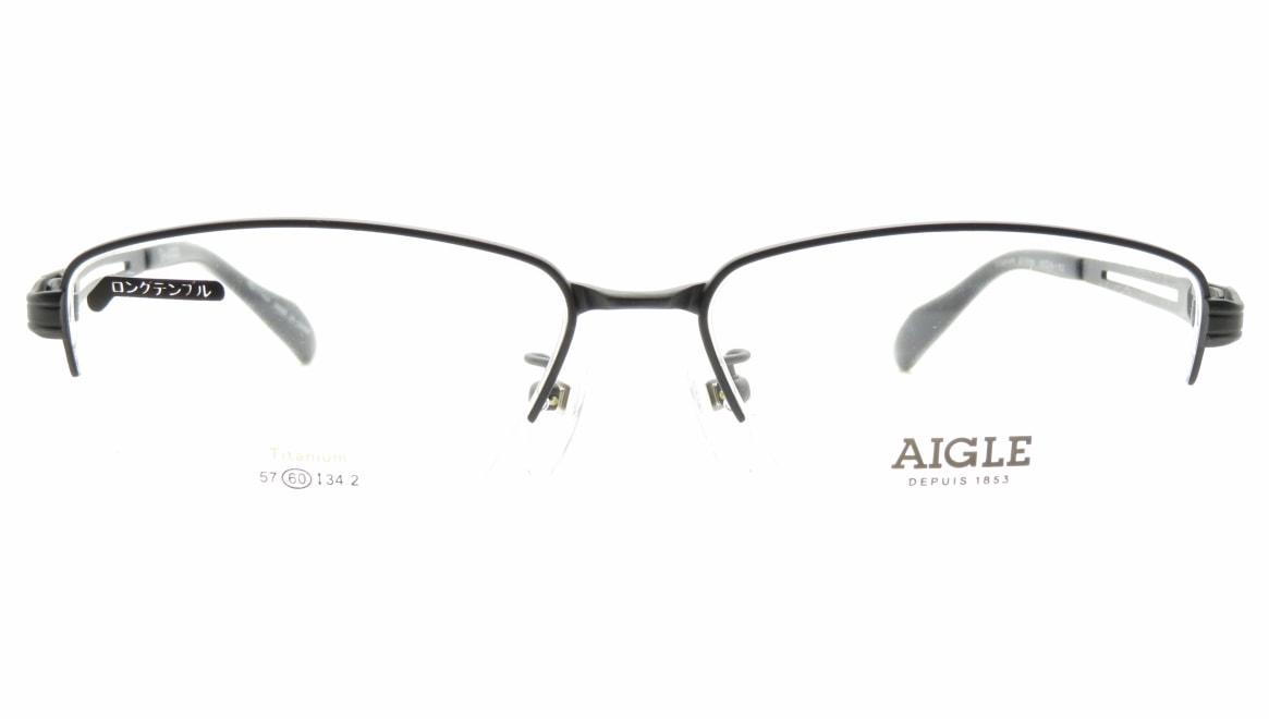 エーグル AG1144-3-60 [メタル/ハーフリム/スクエア]