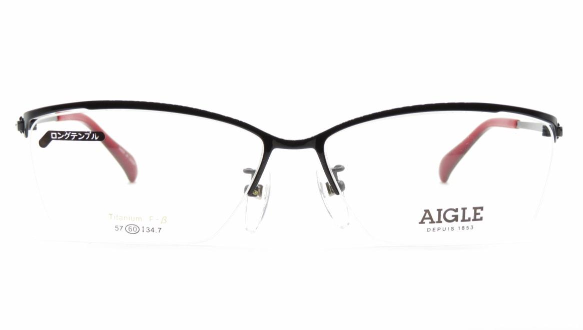 エーグル AG1146-3-60 [メタル/ハーフリム/スクエア]