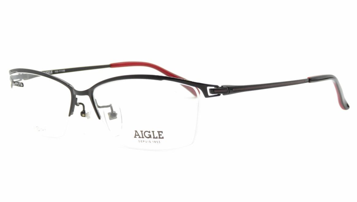 エーグル AG1146-3-60 [メタル/ハーフリム/スクエア]  1