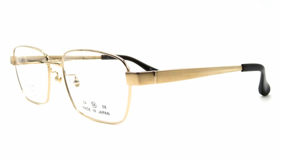 グランダム VT-316-C-1-56 [メタル/鯖江産/ウェリントン/ゴールド]  1