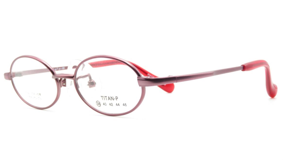 スキップ S-55-C-2-38 [メタル/鯖江産/オーバル/赤]  1