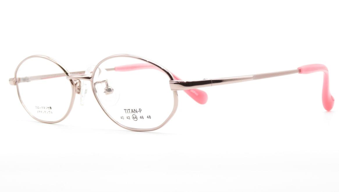 スキップ S-56-C-1-44 [メタル/鯖江産/オーバル/ピンク]  1