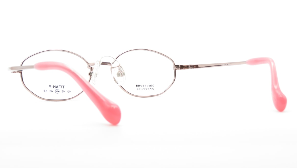 スキップ S-56-C-1-44 [メタル/鯖江産/オーバル/ピンク]  3