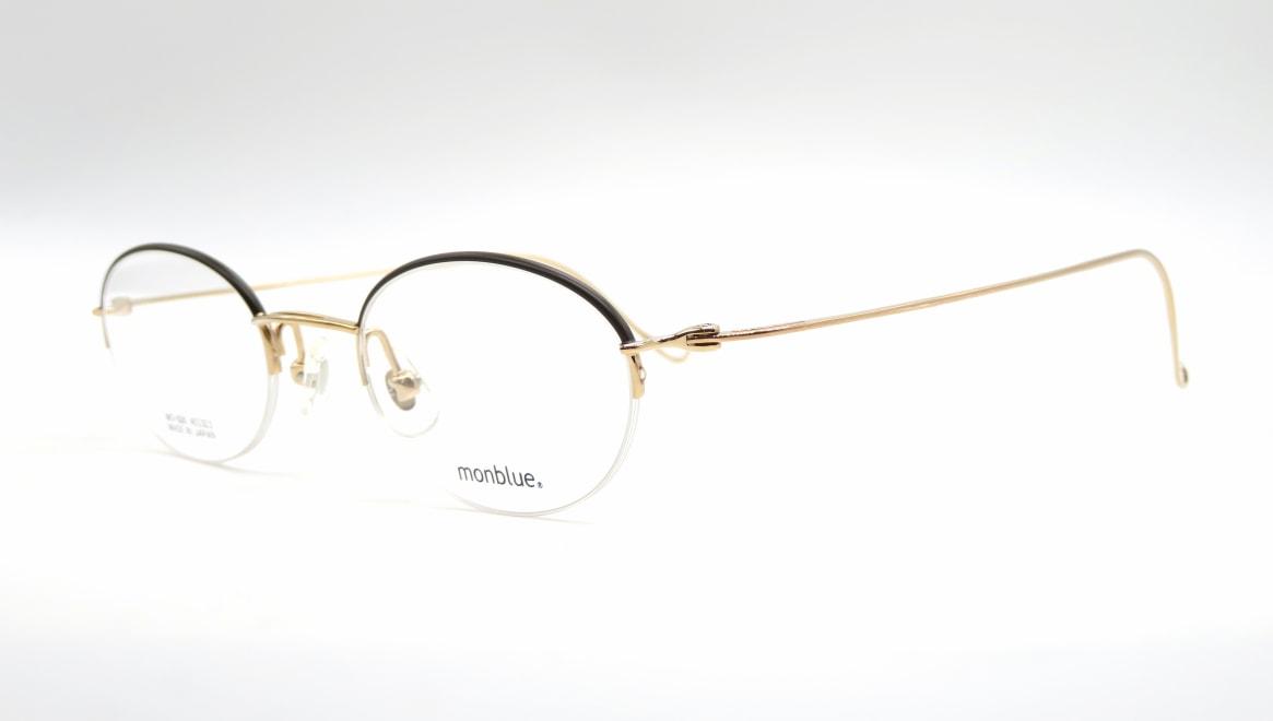 モンブルー MO-026-11-45 [メタル/鯖江産/ハーフリム/オーバル]  1