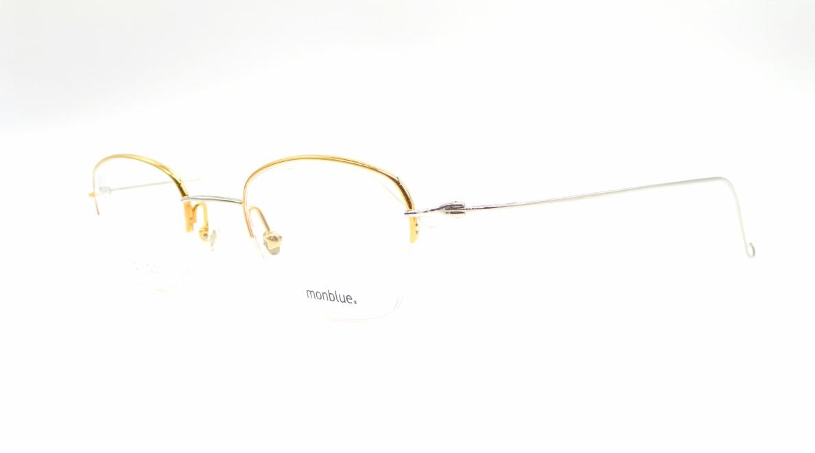 モンブルー MO-027-7-46 [メタル/鯖江産/スクエア/ゴールド]  1