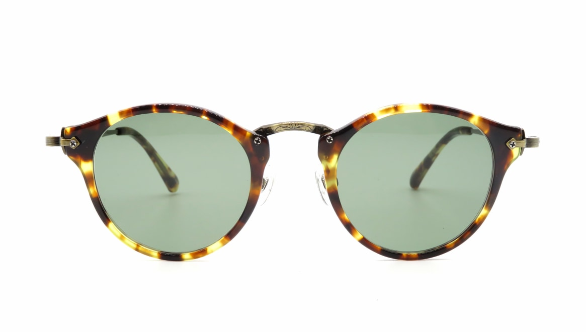 Oh My Glasses TOKYO Luke omg-025-22-12GN-sun [鯖江産/丸メガネ/べっ甲柄]