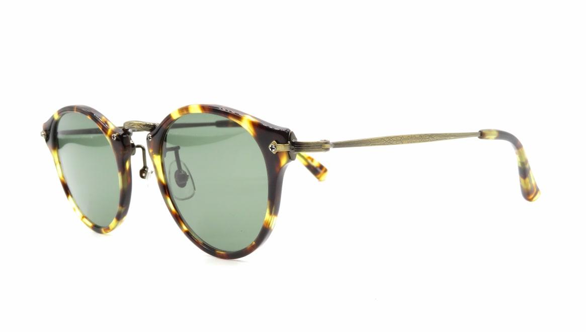 Oh My Glasses TOKYO Luke omg-025-22-12GN-sun [鯖江産/丸メガネ/べっ甲柄]  1