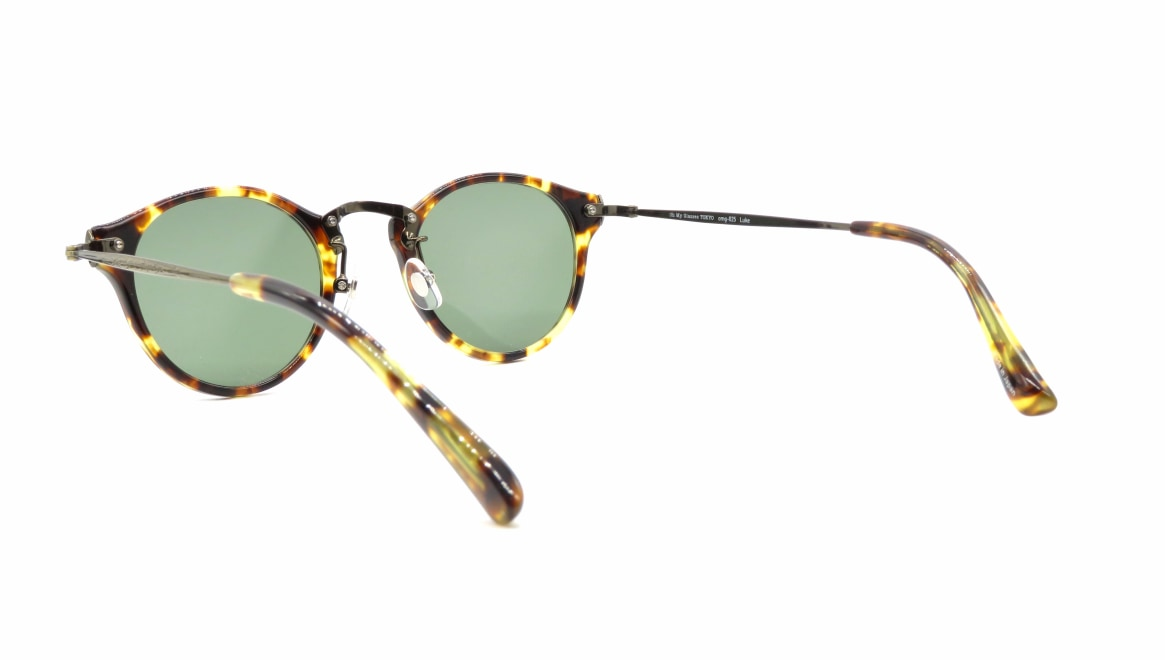 Oh My Glasses TOKYO Luke omg-025-22-12GN-sun [鯖江産/丸メガネ/べっ甲柄]  3